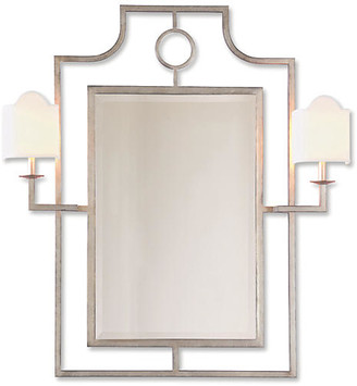 Port 68 Doheny Sconces Wall Mirror - Silver