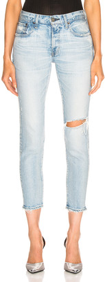 Moussy Vivian Skinny in Light Blue | FWRD