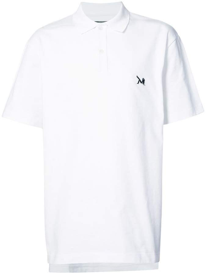 Calvin Klein embroidered polo shirt