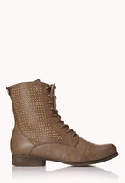 Forever 21 High-Voltage Combat Boots