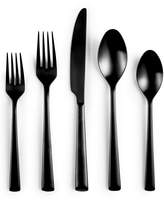 Hotel Collection Black 20 Piece Flatware Set