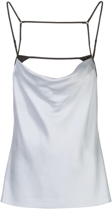 Kiki de Montparnasse Harness Silk Cami Top