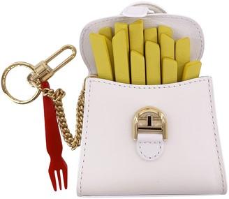 Delvaux Multicolour Leather Bag charms