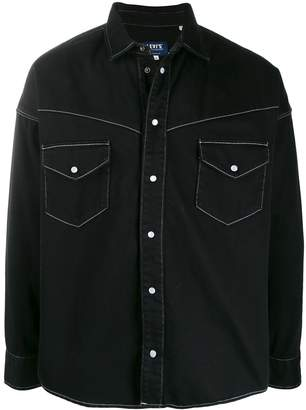 Levi's Made & Crafted contrast stitch shirt jacket