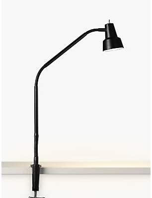 John Lewis & Partners Zadie LED Clip on Desk Lamp with Clamp