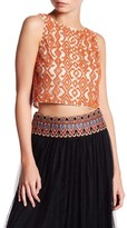Alice + Olivia Pire Beaded Tank