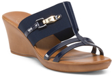 Made In Italy Finesse Elastic Slide Sandals