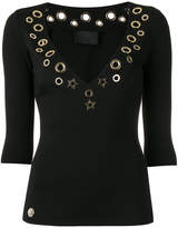 Philipp Plein cut out top