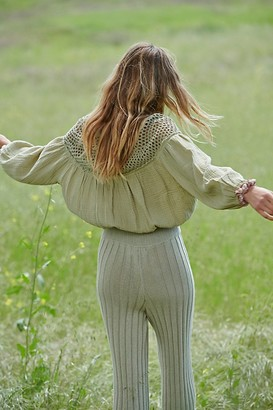 Free People Valencia Blouse
