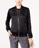 MICHAEL Michael Kors Studded Bomber Jacket