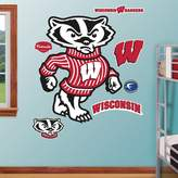 Fathead Wisconsin Badgers Bucky Badger Wall Decals
