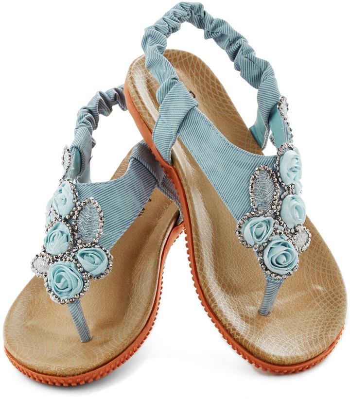 Floral Stroll Sandal