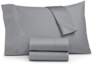 Sunham Ashford 1500-Thread Count 4-Pc. Solid Full Sheet Set Bedding
