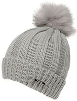 Firetrap Womens Cable Hat Snow Winter Warm Accessories