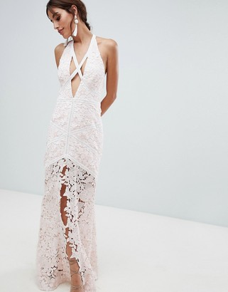 The Jetset Diaries Frangapani Strappy Evening Dress