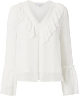 Exclusive for Intermix Katarina Ruffle Top