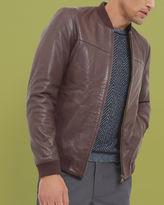 ACTION Leather bomber jacket