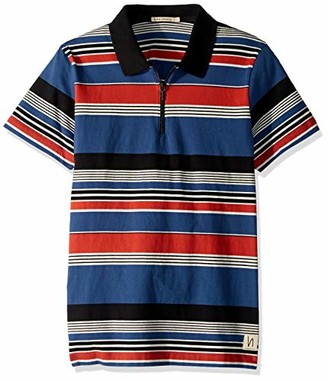 Nudie Jeans Men's Mikael Multi Stripe Zipper 002