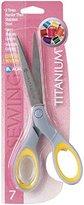 Acme 7-Inch Titanium Straight Sewing Scissors