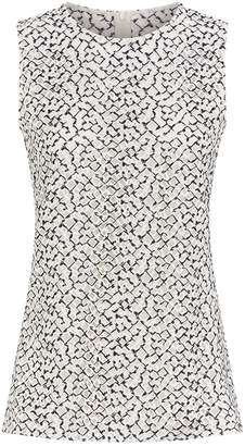 Akris St. Gallen Embroidered Blouse