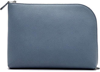 The Row Medium Square Pochette Wallet in Fine Grain Leather
