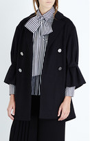 Osman Double-breasted wool-blend coat