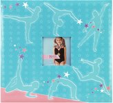 MCS MBI Sport and Hobby Postbound Album 12-Inch-by-12-Inch, Gymnastics