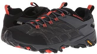 Merrell Moab FST 2 Low Waterproof (Black/Granite) Men's Shoes