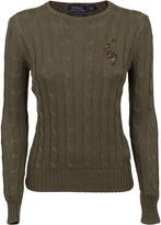 Ralph Lauren Military Green Cotton Sweater