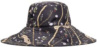 Ganni x Browns 50 multi-print bucket hat