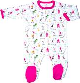 Magnificent Baby Girl's Circus Footie