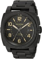 Nixon Men's 'Charger GMT' Swiss Quartz Stainless Steel Casual Watch, Color: (Model: A10881256-00)
