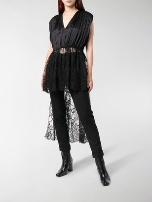 Alexander McQueen Long-Tailed Lace Tunic