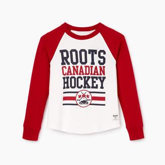 Roots Boys Hockey Raglan T-shirt