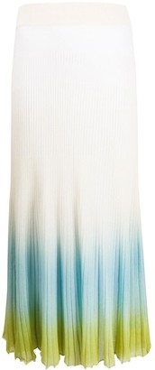 Jacquemus Multicoloured Pleated Skirt