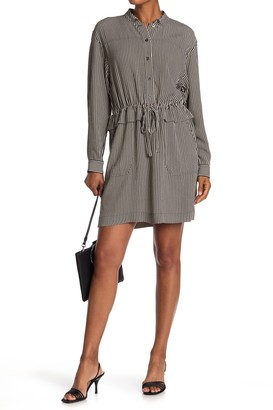 Equipment Lizza Stripe Shirt Dress