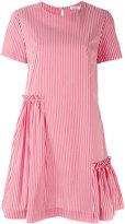 P.A.R.O.S.H. short sleeve striped dress - women - Cotton/Polyamide/Spandex/Elastane - S