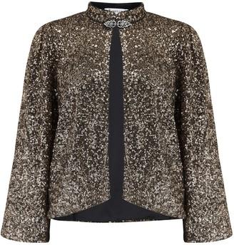 Libelula Laura Jacket in Gold Sequins - 38/ UK10