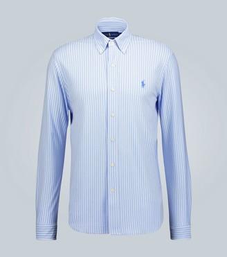 Polo Ralph Lauren Oxford knit long-sleeved shirt