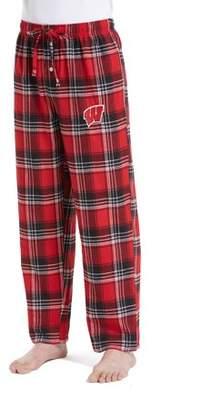 NCAA Wisconsin Badgers Groundbreaker Big Men's Flannel Pant, 2XL