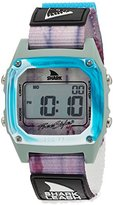 Freestyle 'Shark' Quartz Plastic and Nylon Sport Watch, Color:Blue (Model: 10027041)
