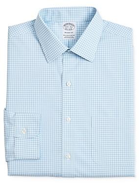 Brooks Brothers Bold Gingham Regular Fit Dress Shirt