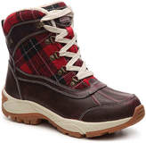 Kodiak Women's Rochelle Snow Boot -Burgundy/Red Plaid