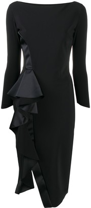 Le Petite Robe Di Chiara Boni Ruffled Panel Dress