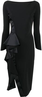 Le Petite Robe Di Chiara Boni Ruffled Panel Dress
