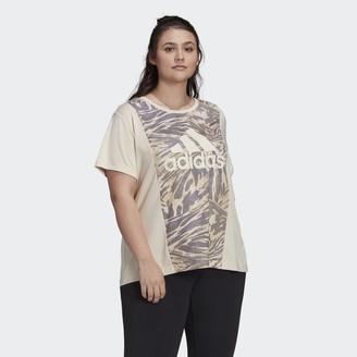 adidas x Zoe Saldana AEROREADY Tee (Plus Size)
