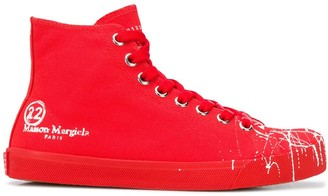 Maison Margiela Tabi lace-up sneakers
