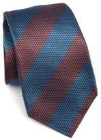 Kiton Thick Striped Silk Tie