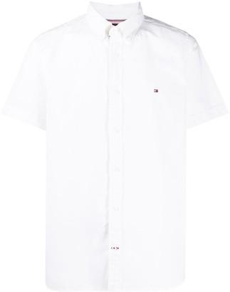 Tommy Hilfiger Logo Embroidered Shirt