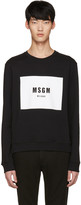MSGM Black Logo Pullover